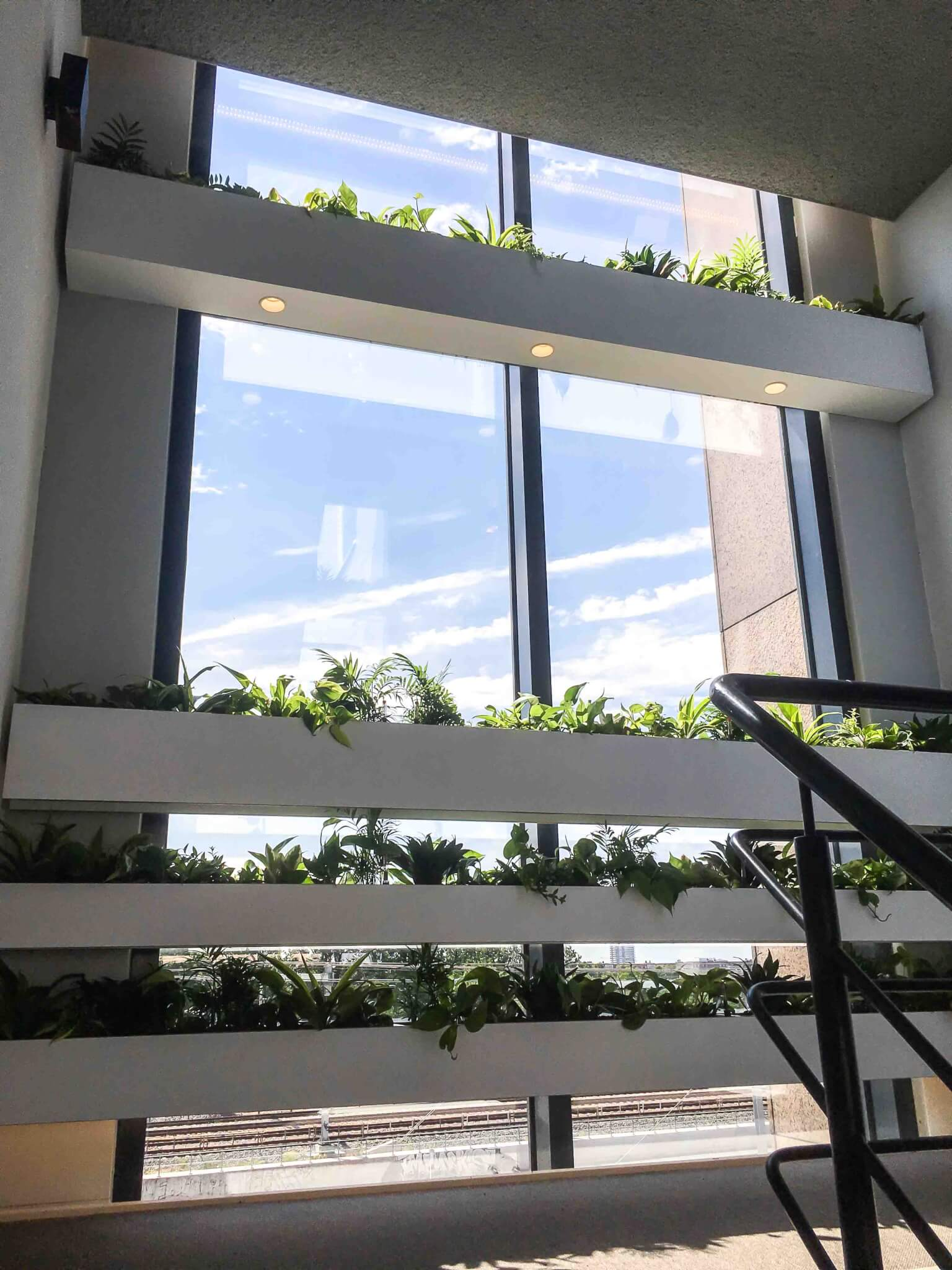 Kantoorplanten trappenhuis Utrecht