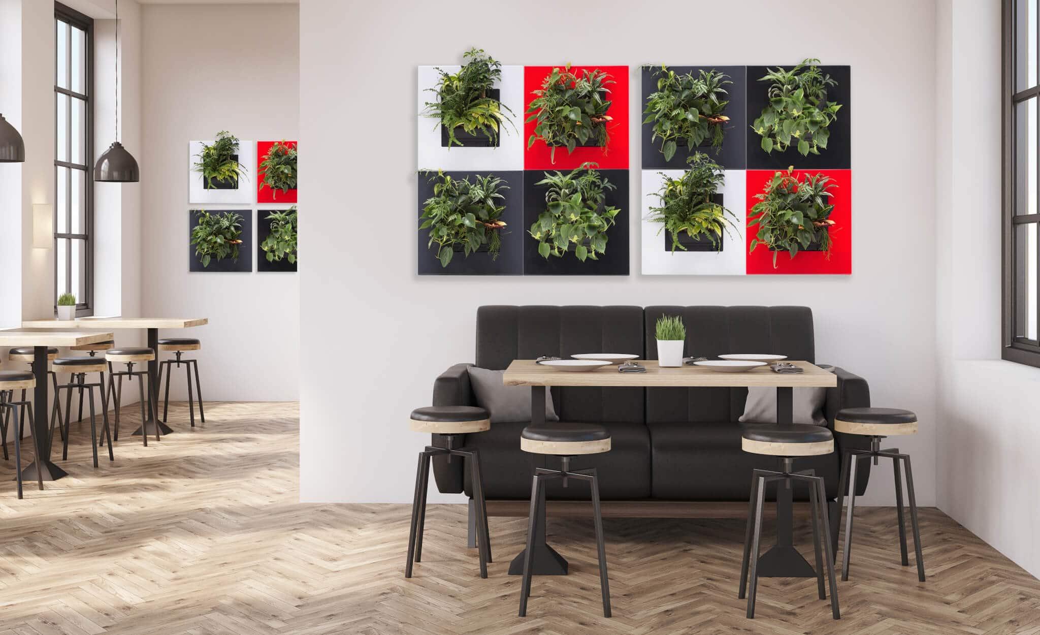 groene schilderijen