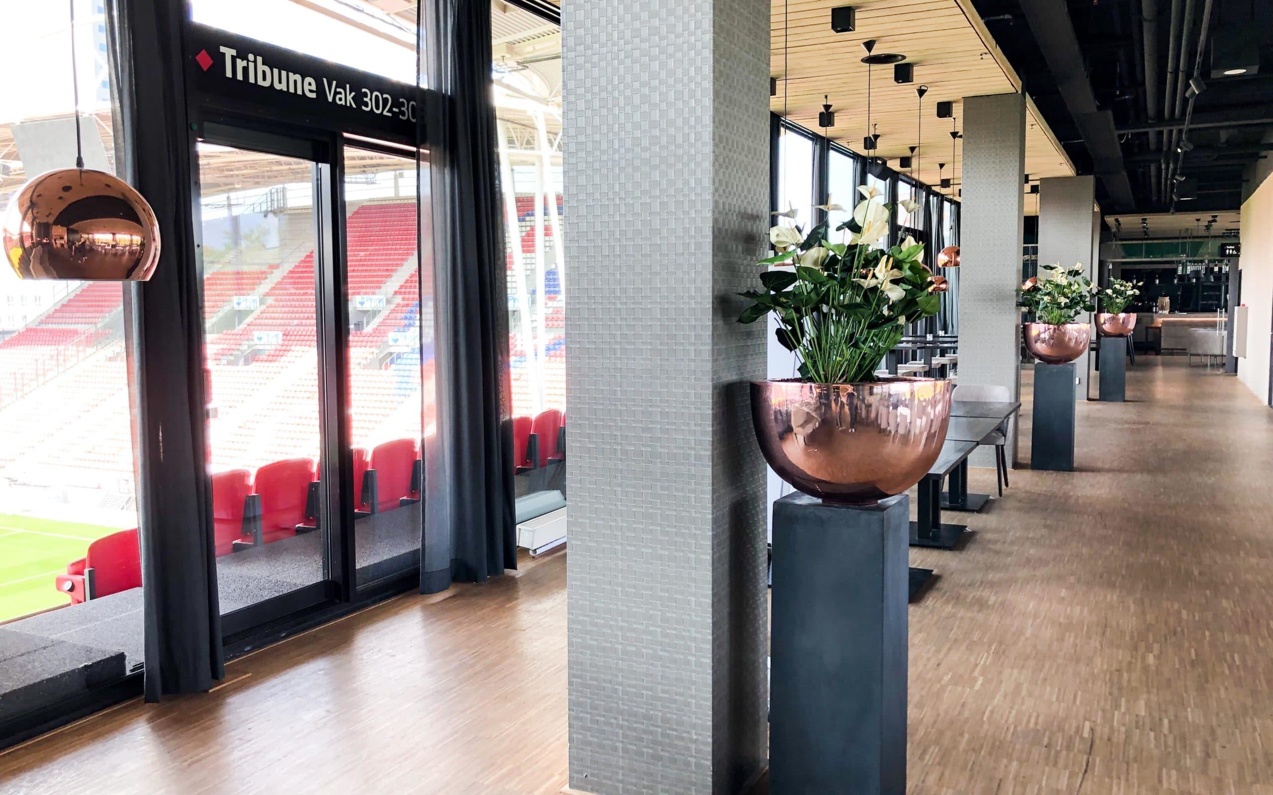 Interieurbeplanting voor FC Utrecht
