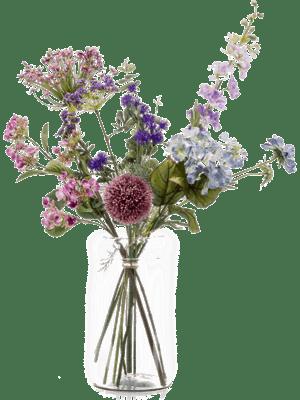 Bloemen van zijde