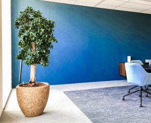 Interieurtrends voor kantoor 2020 classic blue