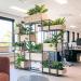 Kast met planten voor kantoor