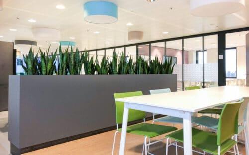 Roomdivider gezond werken in Leiden