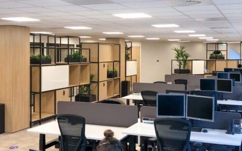 Prachtig kantoor met planten bij Link Asset Services