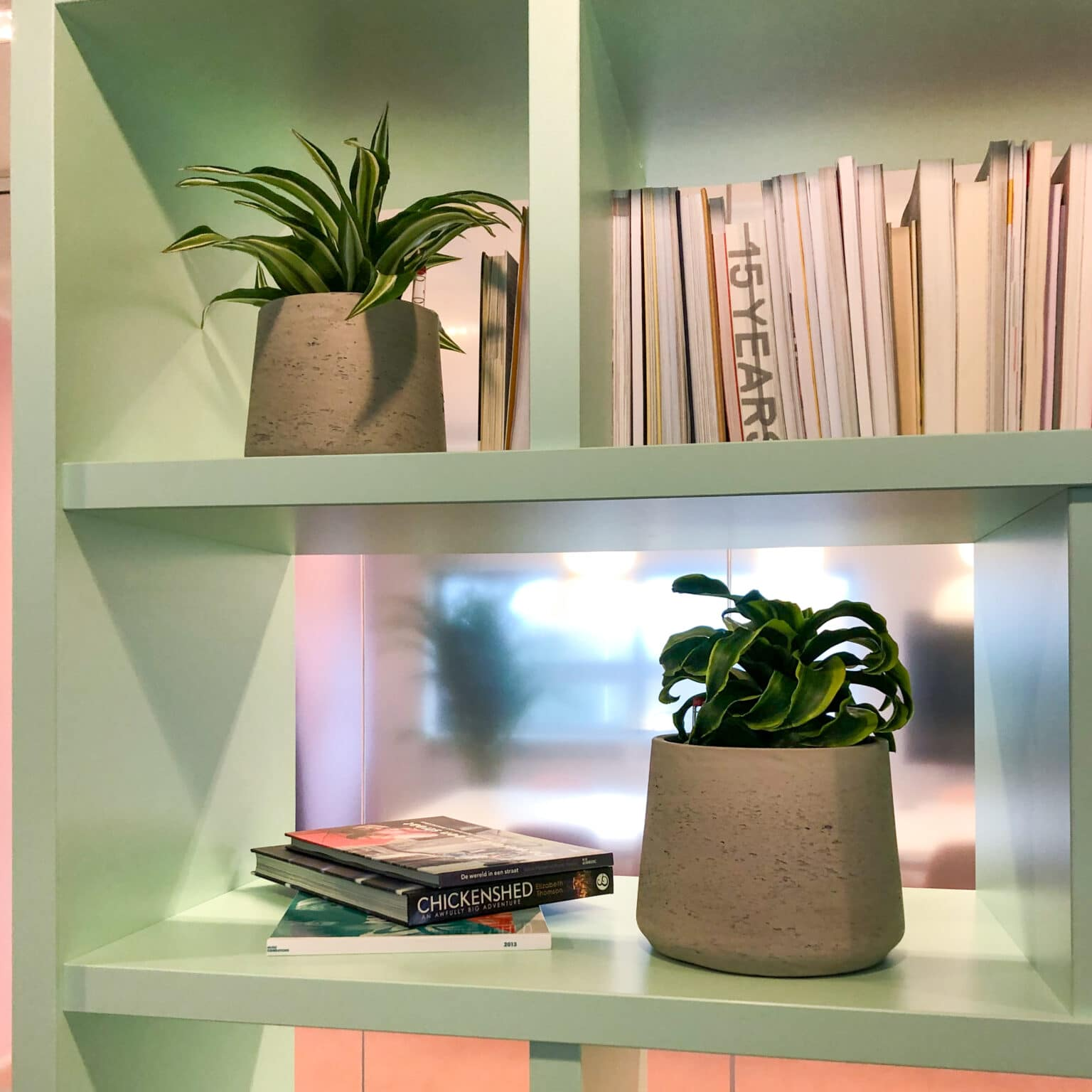 Kleine plantenbakjes bij Fonds voor Cultuurparticipatie