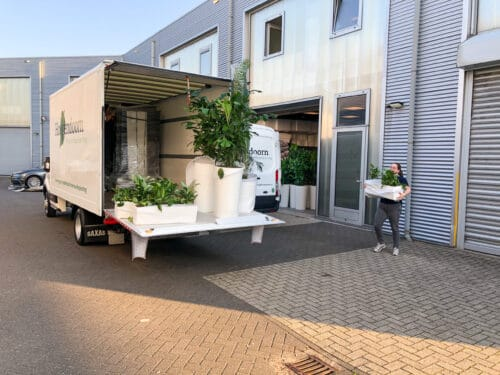 werken bij Hoogendoorn Projectbeplanting