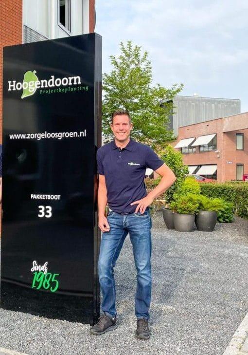 Jeroen nieuw bij Hoogendoorn 2021